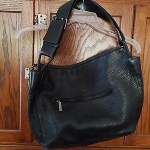 Via Spiga pebbled leather purse